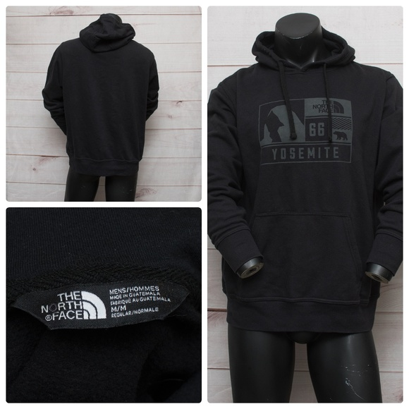 32dfdd883 The North Face Shirts | Yosemite Medium Black Mens Hoodie | Poshmark